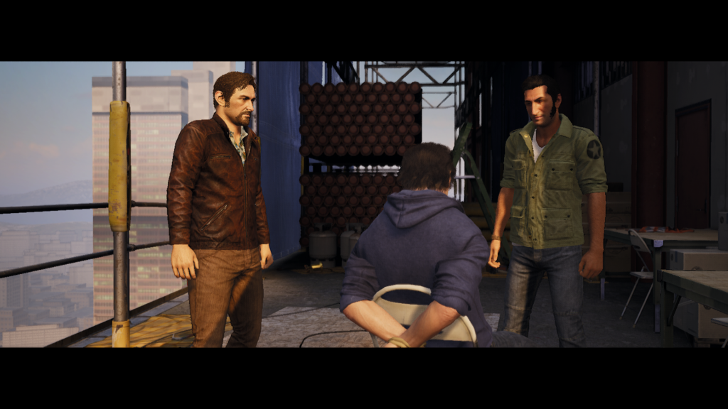 A Way Out Interrogation
