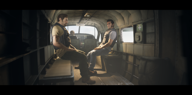 A way out Loading sequence